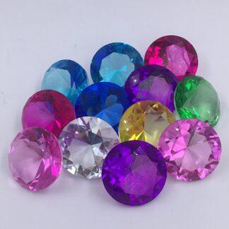 Diamanter 6 cm 8 farver