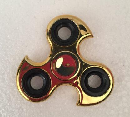 Fidget Spinner guld krom ninja