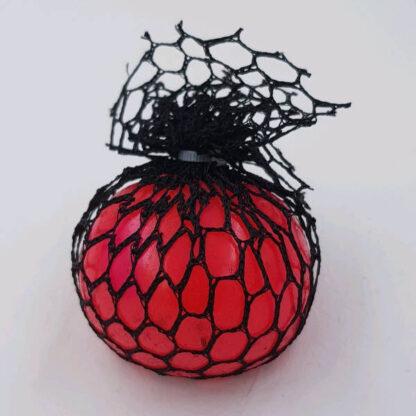 Klassisk stressbold farveskift rød