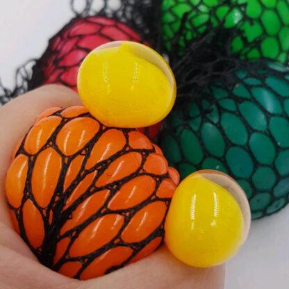 Klassisk stressbold med farveskift