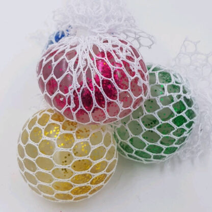 Stressbold gelé i net, uden-pose
