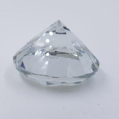 Stor klar diamant 6cm krystal