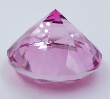 Stor pink diamant 6cm krystal
