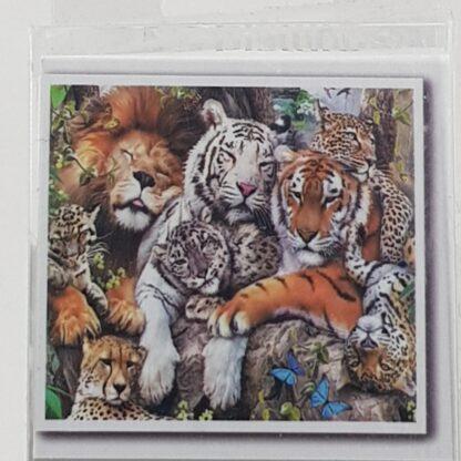 Diamond painting løver tigre