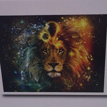 Diamond painting smuk løve