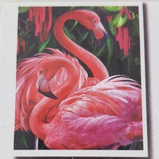 Flamingo Rød - 5D Diamond Painting