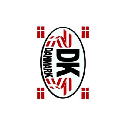 80 stickers DK skilt sjov