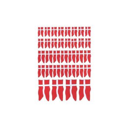 Store danske flag som stickers