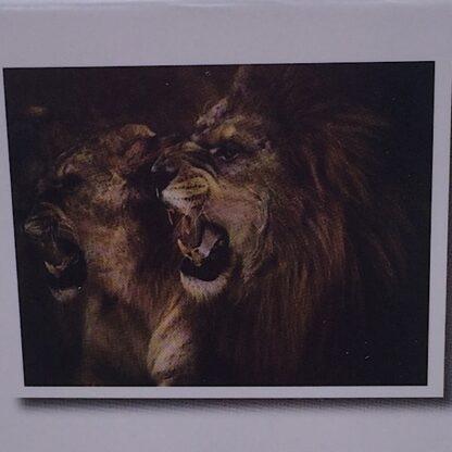 Diamond painting-brølende løve