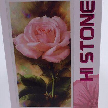 Diamond painting lyserød rose