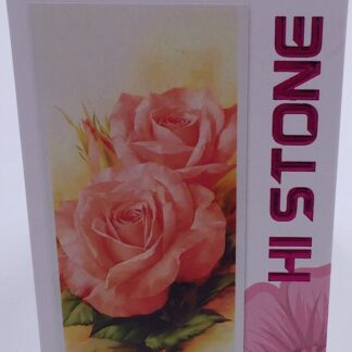 Diamond painting smukke ferskenfarvede roser