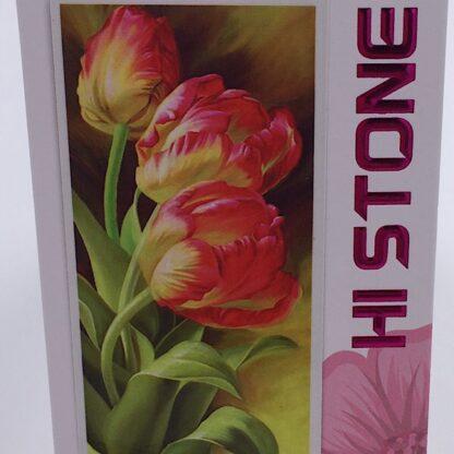 Diamond painting smukke røde tulipaner
