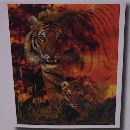 Diamond painting tiger med unge