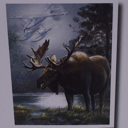 Diamont painting stor elg i natten