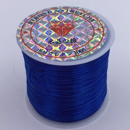 Fiberelastik elastisk og stærk elastik blå