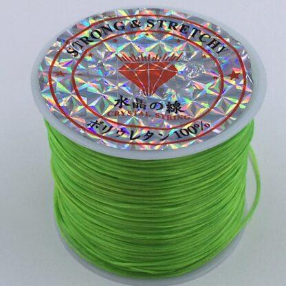Fiberelastik stærk og elastisk elastik lysegrøn