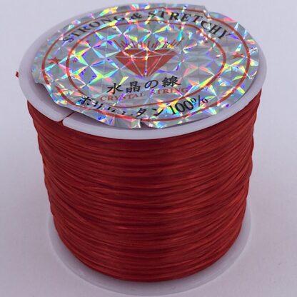 Fiberelastik super stærk elastik rød