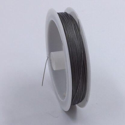 Stålwire til smykkefremstilling grå stål tråd