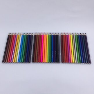 48 farveblyanter til farvelægning og tegning