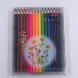 48 farveblyanter til tegning