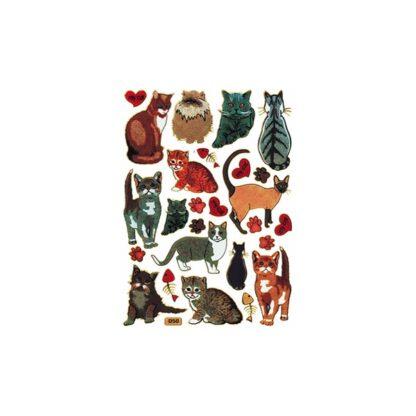 50 stickers katte My Cat sjov