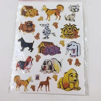 51 stickers hund og hundehus sjov dk