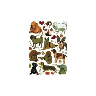 51 stickers hunde og hundehus sjov