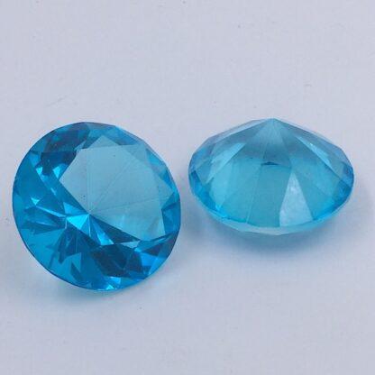 Diamant 4 cm Turkis Blå