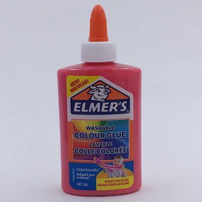 Elmers Farvelim 147 ml Pink Colour Glue