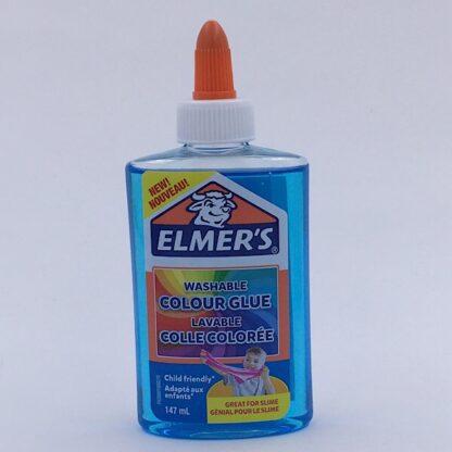 Elmers Gennemsigtig Farve Lim 147 ml Blå Colour Glue