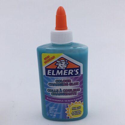 Elmers Lim Farveskift 147 ml blå