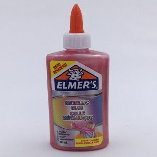 Elmers Metallic Lim 147 ml lyserød
