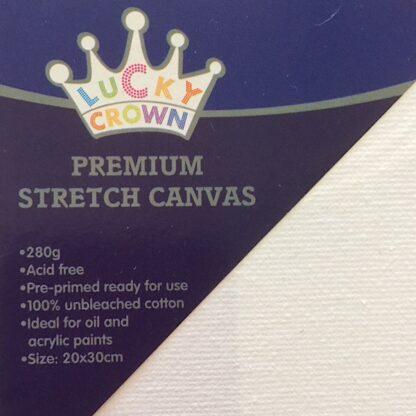 Malerlærred 280 gram 20x30 Canvas