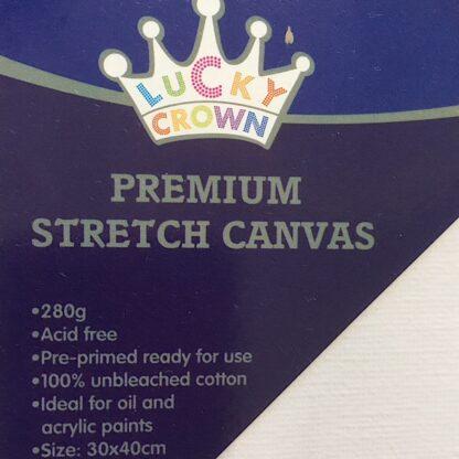 Malerlærred 280 gram 30x40 Canvas