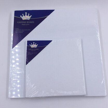 Malerplader med 280 grams lærred