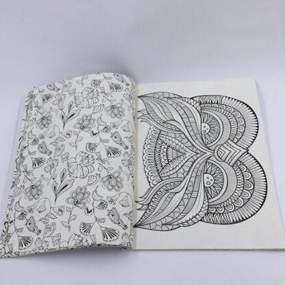 Mandala malebog smukke mønstre og dyremotiver