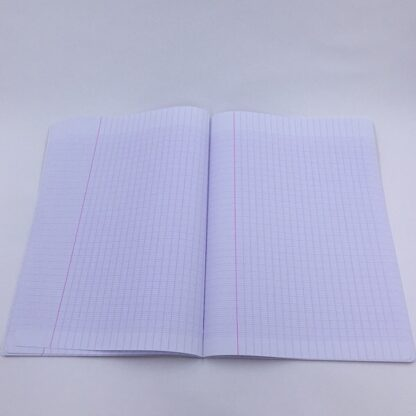Notesbog med ternetpapir stærk papir