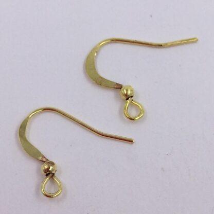 Ørekroge Guld 14 mm