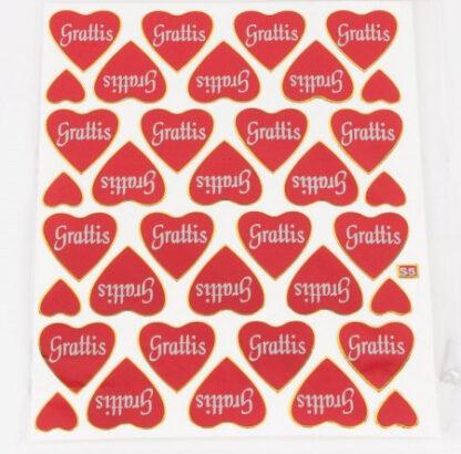 s5 stickers gratis hjerter sjov