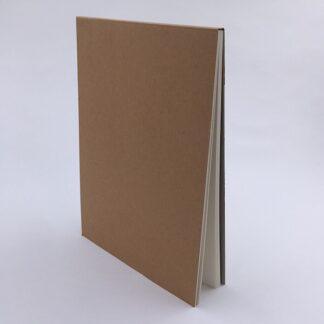 Skitseblok med 60 sider 18,5 cm bred og 26 cm høj