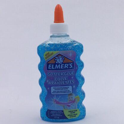 Elmers Glimmer Lim 177 ml Blå Glitter Glue