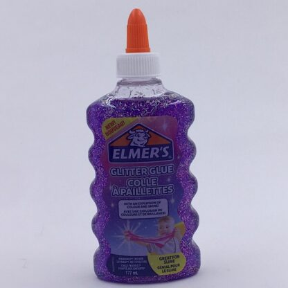 Elmers Glimmer Lim 177-ml Lilla Glitter Glue
