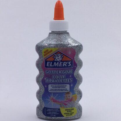 Elmers Glimmer Lim 177-ml Sølv Glitter Glue