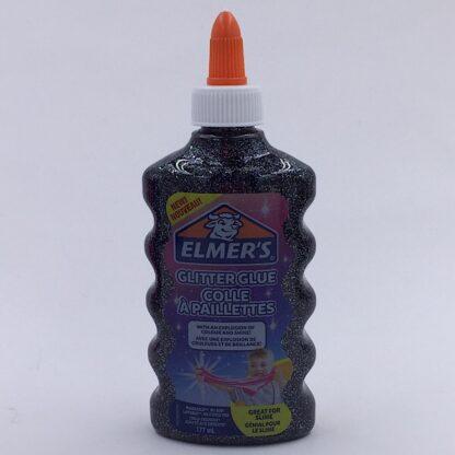 Elmers Glimmer Lim 177 ml Sort Glitter Glue