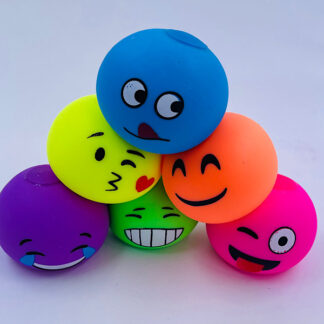 Stressbolde med emoji ansigter 6 forskellige