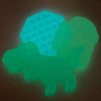 Glow in the dark Pop it