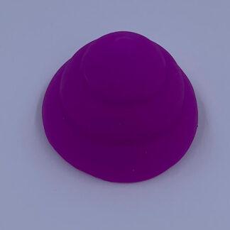 Neon Poo silikone Squishy lilla Fidget Toy
