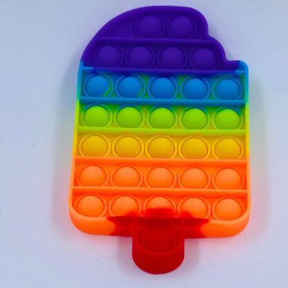 Pop it is Fidget Toy regnbuefarvet Pop Fidget