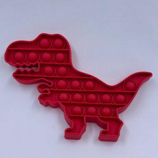 Pop it rød Dino Pop Fidget