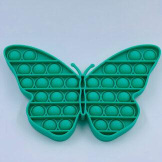 Pop it sommerfugl Pop Fidget grøn Fidget Toy